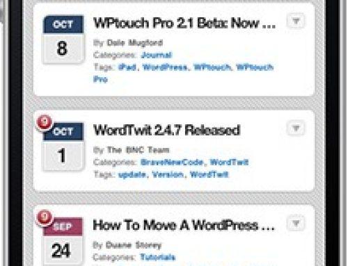 Mobilna wersja twojej strony opartej o WordPress