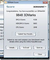 benchmark 3dmark 06 gtx460 e6420 no OC