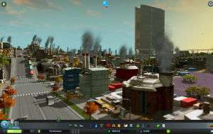 cities skylines - zrzut ekranu (screenshot)