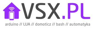VSX.pl – arduino, domoticz, informatyka, wordpress, windows Logo